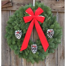 Noble Fir Classic Wreath